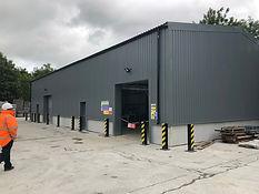 Industrial Steel Warehouse Building Storage