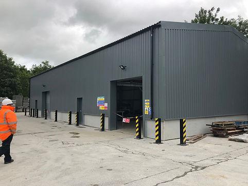 Industrial Steel Frame Building Warehouse
