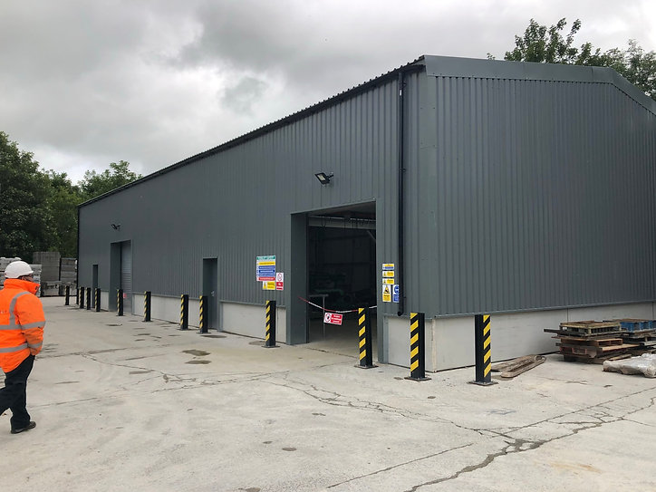 Industrial Steel Building Storage Warehouse