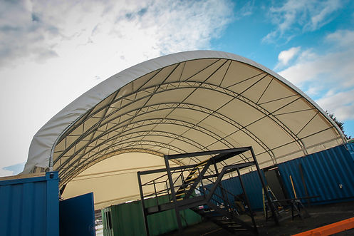 Container Canopy Shelter - ShelterIt