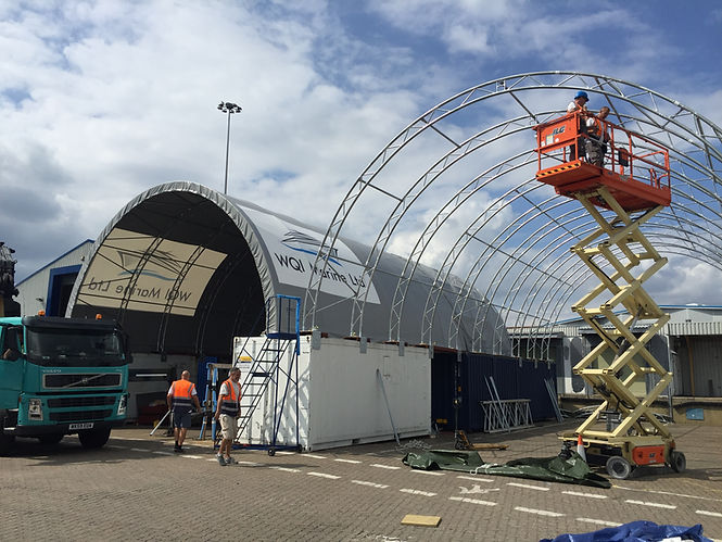 Installation of a Container Canopy - ShelterIt
