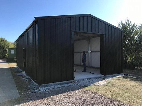 6m wide x 3.5m Eave Portal Frame Building