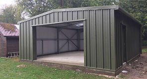 Steel Building Kit Warehouse Storage