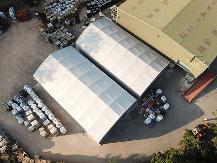 Freestanding Industrial Tent Structure - ShelterIt