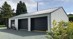 Steel Garage Building Vehicle Storage