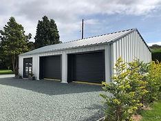 Self Build Steel Garage Workshop Office