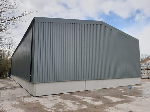 12m wide x 3.5m Eave Portal Frame Building