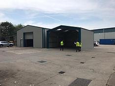 Prefabricated Steel Building Garage Warehouse Workshops
