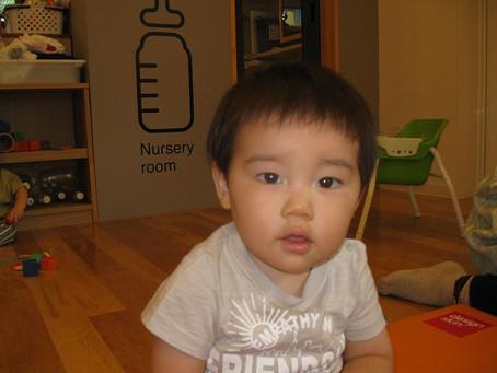 めぶき組(0歳児) 『ニューフェイス(*'∀') 』『感触遊びのご紹介』