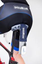 מערכת למדידת פיזור לחץ על אוכף האופניים.