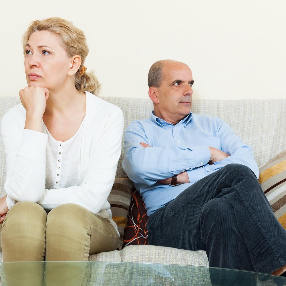 divorce conflict separate emotion