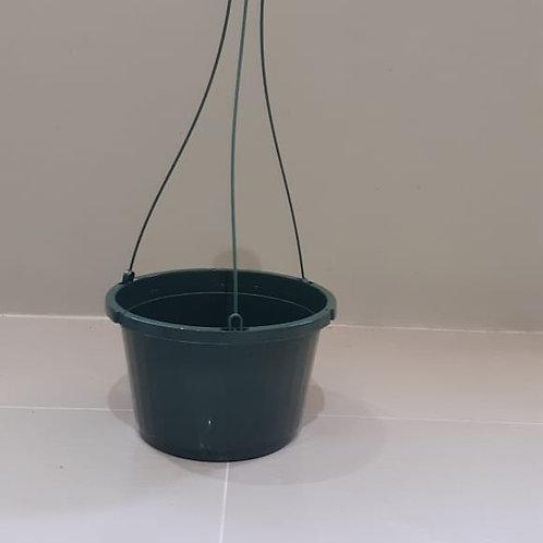 """10"""" Green Hanging Basket"""