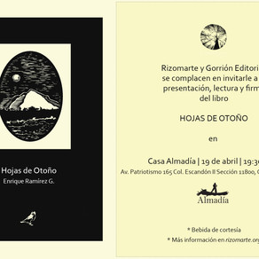 """De la imagen a la letra: Proceso de un poemario """"Hojas de Otoño"""""""