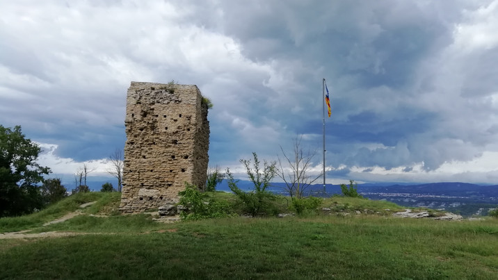 Ruina de la torre de los iberos