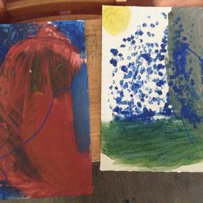 3.- Coloreando la lluvia: Pintar el sonido, escuchar el color. Intervenciones pedagógicas desde el m