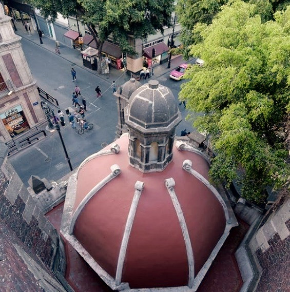 Cúpula del ex Templo de Santa Clara-Purísima