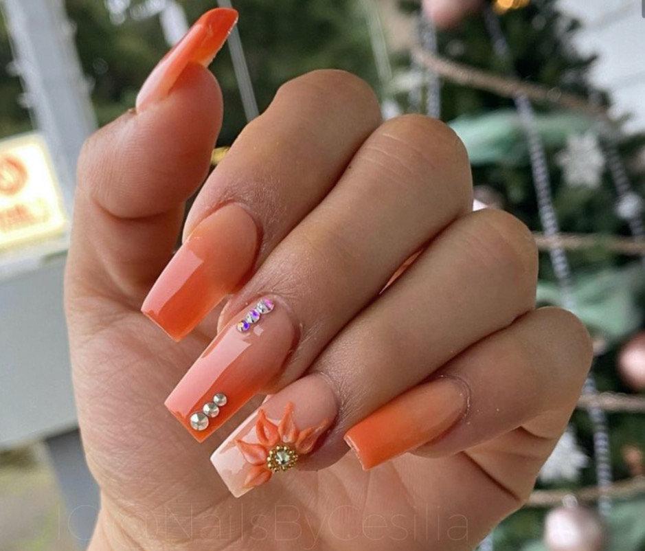 Acrylic Nails Full Set- Artwork