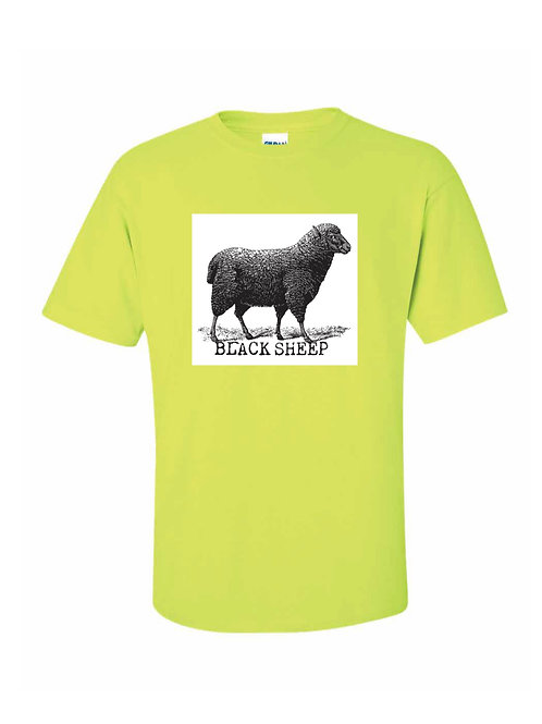 BLACK SHEEP (CONSTRCTION GREEN & WHITE)