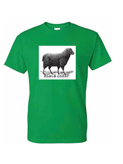 BLACK SHEEP (GREEN & WHITE)