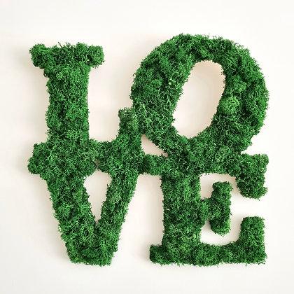 Love moss sign