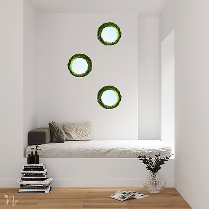 Moss mirror