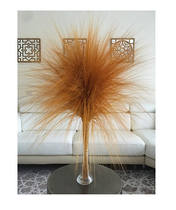 Bouquet of barba grass - Yellow