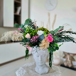 Preserved flower arrangement Ninfa Studio