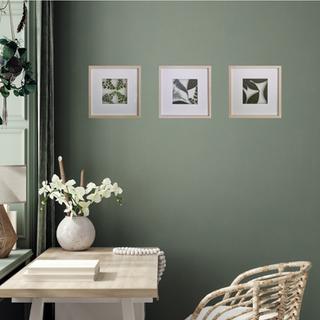 Framed ferns & foliage