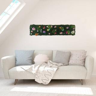 Indoor flower garden panel