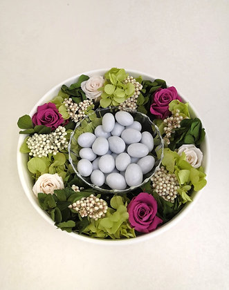 Floral bonbon bowl