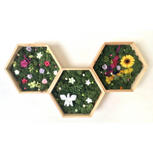 Floral Honeycomb
