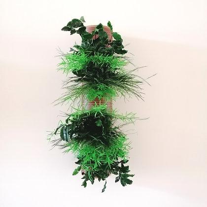 Wall planter column