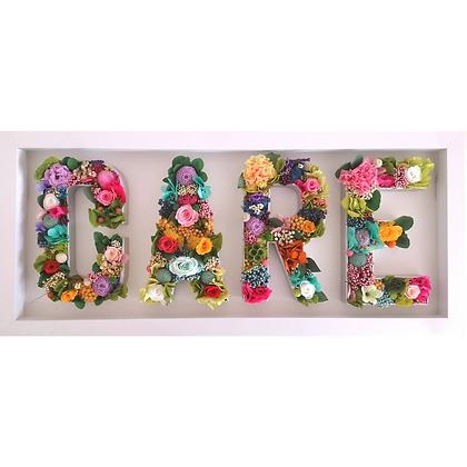 Custom flower letters - 4