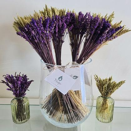 Preserved lavender bunch