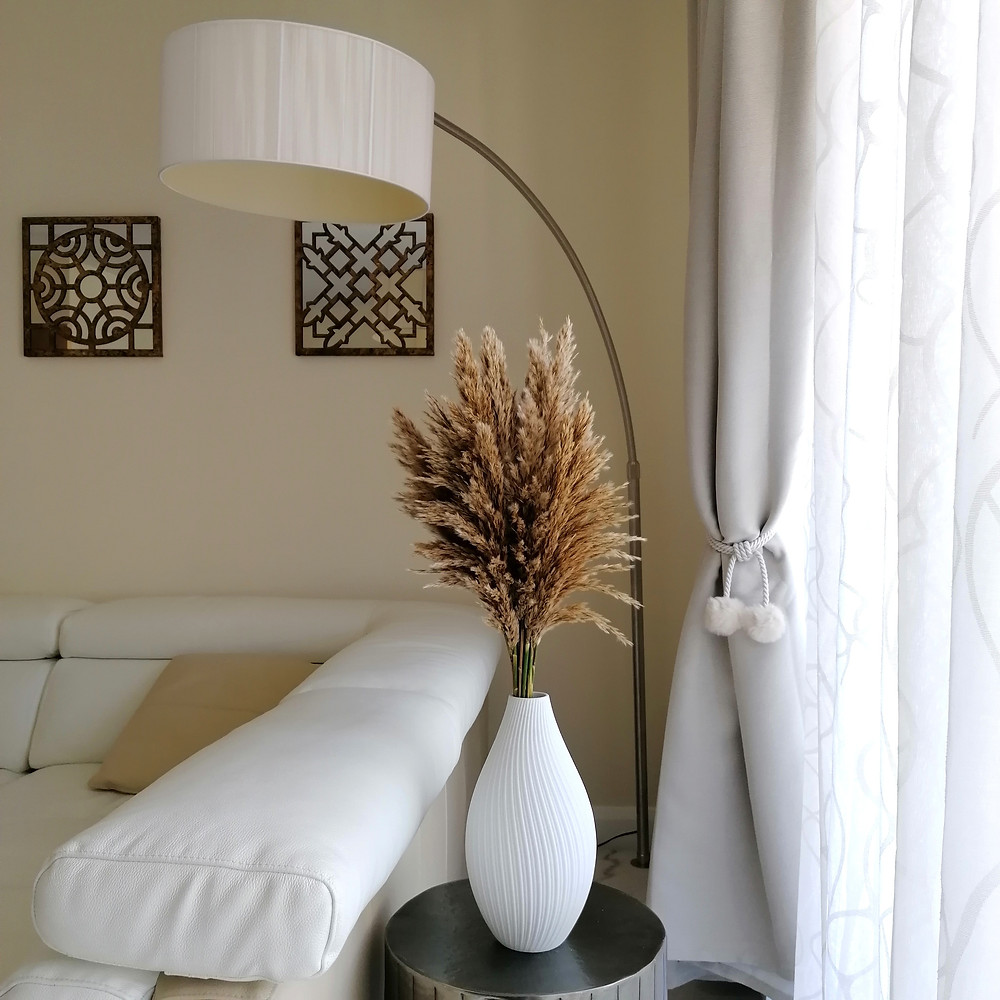 How to decorate with pampas grass