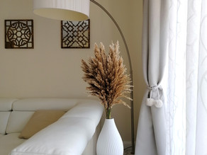 5 easy little ways to decorate with pampas grass