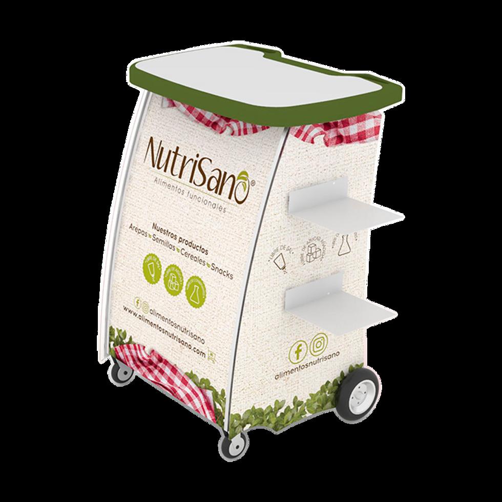 Carro degustacion multi marca NUTRISANO.