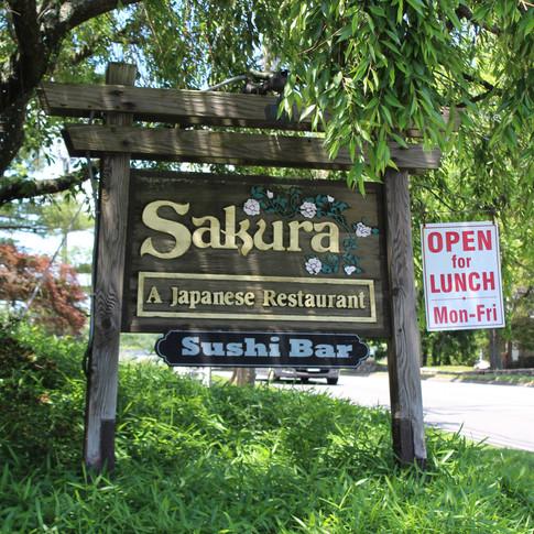Sakura Sign