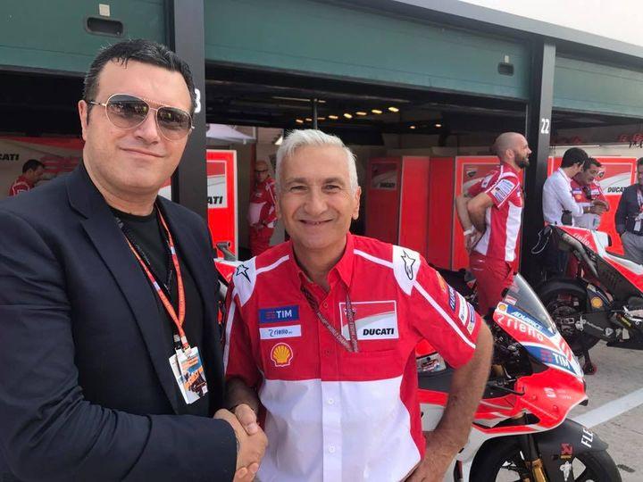 Davide Tardozzi DUCATI MOTO GP