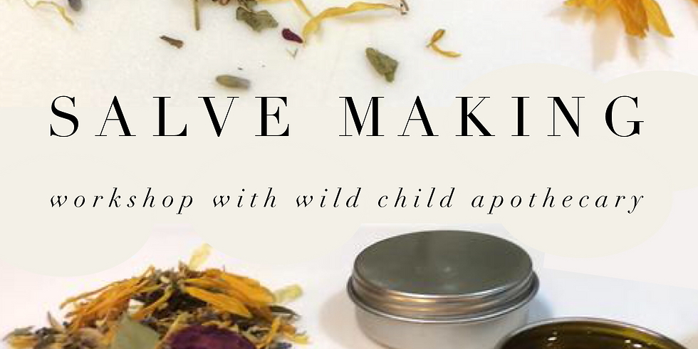 Infused Plant Oils & Healing Salves