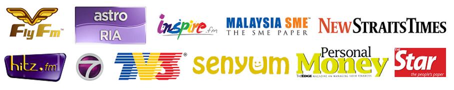 Fly FM Logo, Astro Ria Logo, Inspire.fm logo, Malaysia SME logo, New Straits Times Logo, Logo, Icon, Malaysia Media, Swimin12 Famous in Malaysia, What to do in Kuala Lumpur