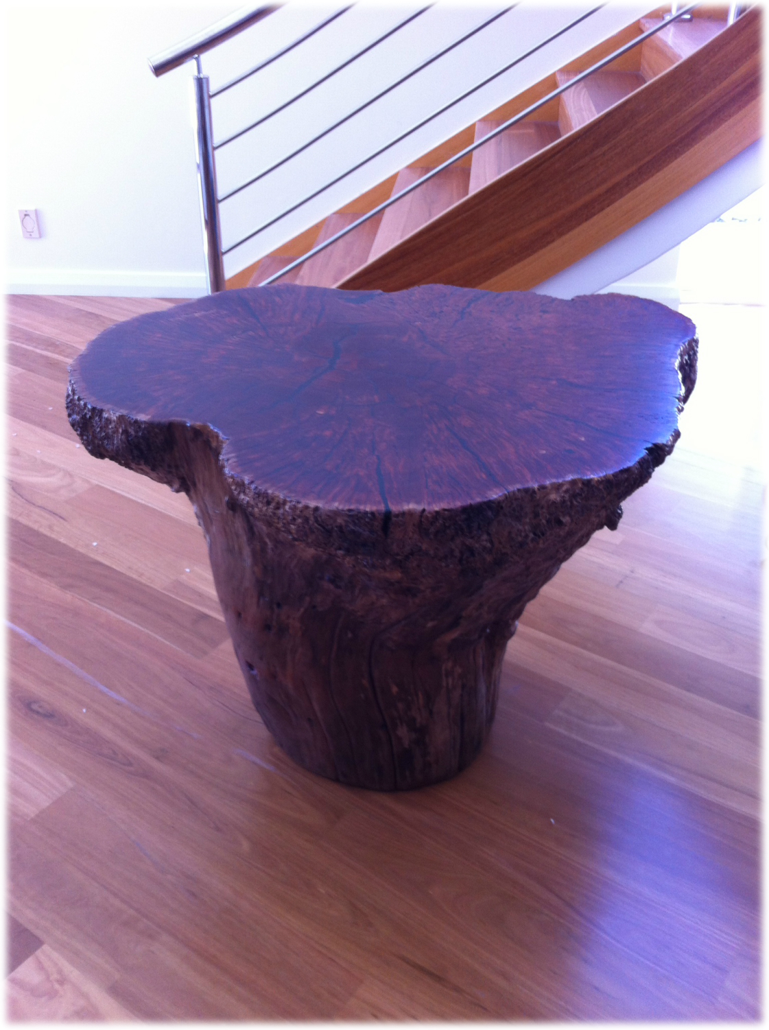 1Piece Burl Table