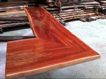 Natural Edge Jarrah Bar Tops