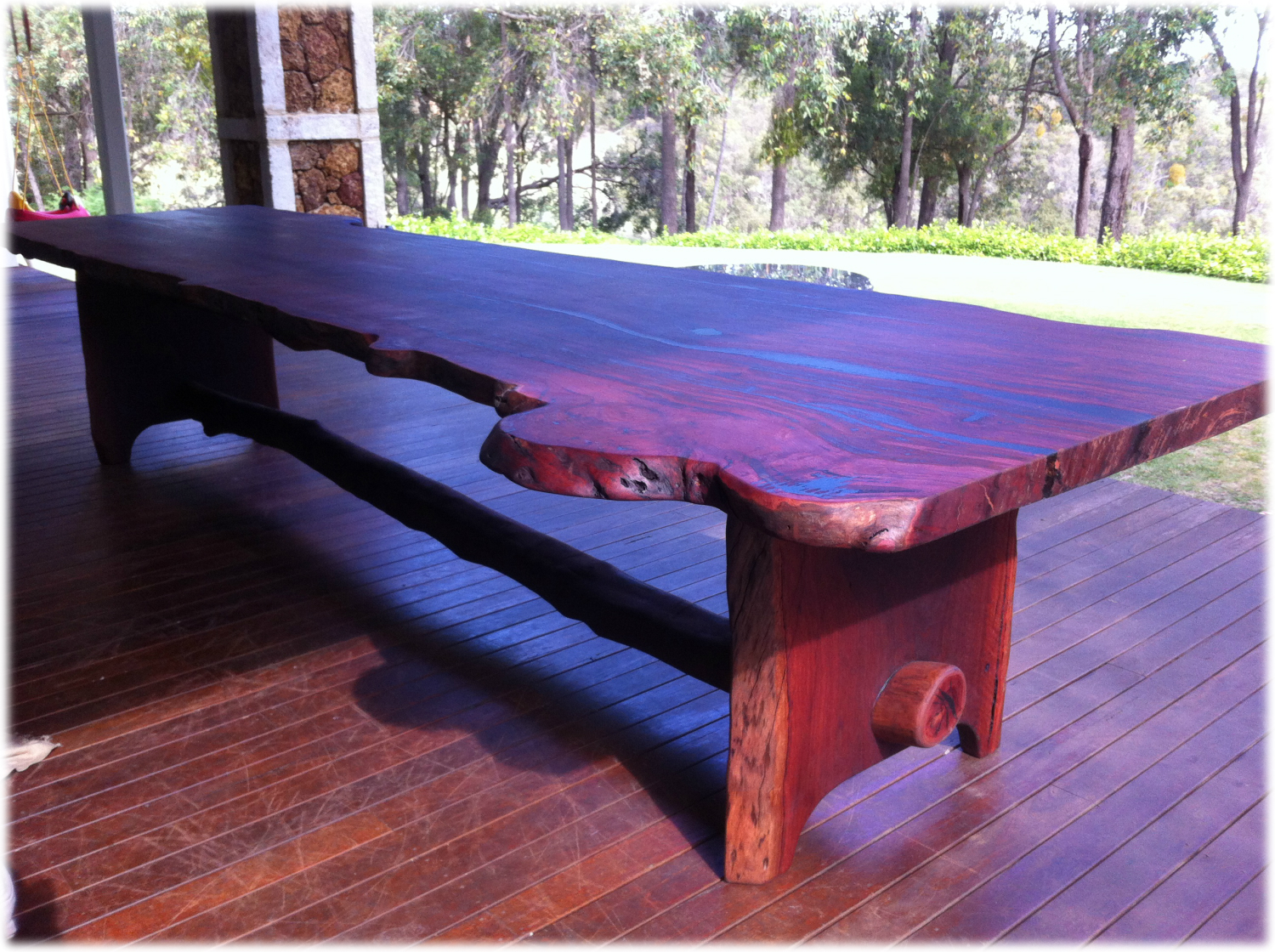 Burlie Jarrah Outdoor Table