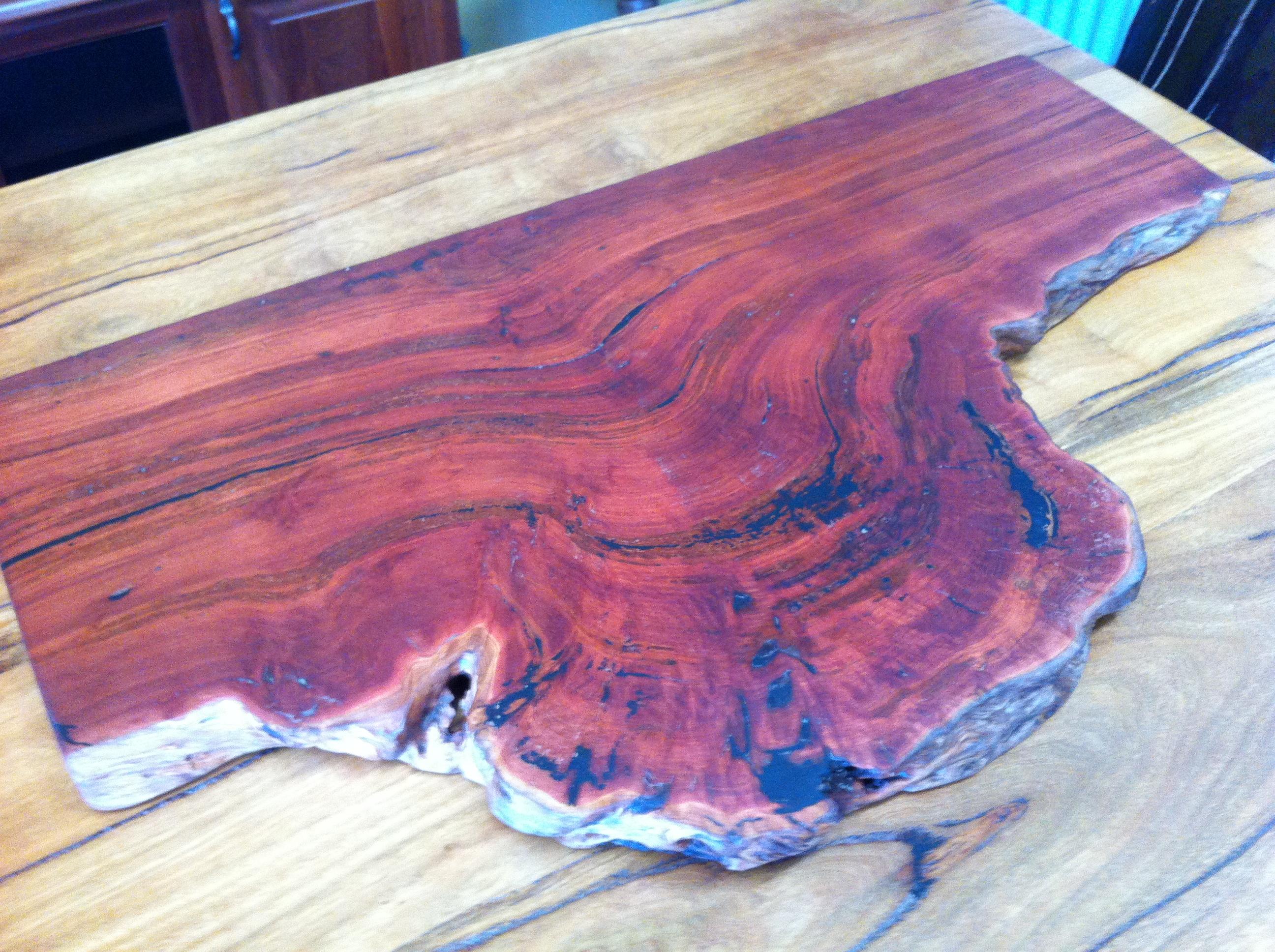 Burl Chopping Board