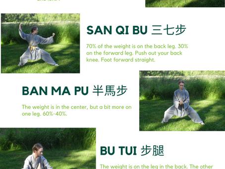 Basic Stances 基本步法 Jīběn bù fǎ