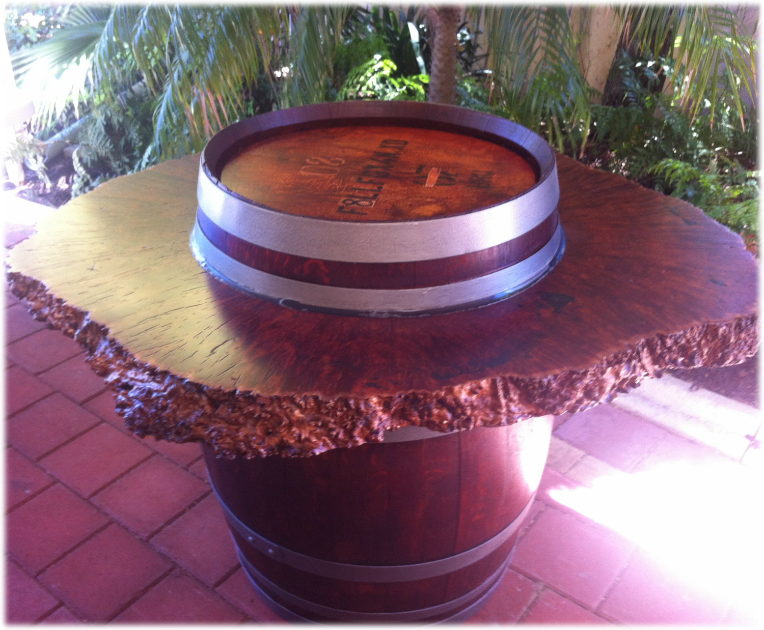 Burl Barrel Feature Table