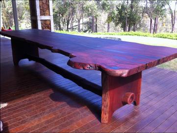 12 Seater Outdoor Jarrah Table