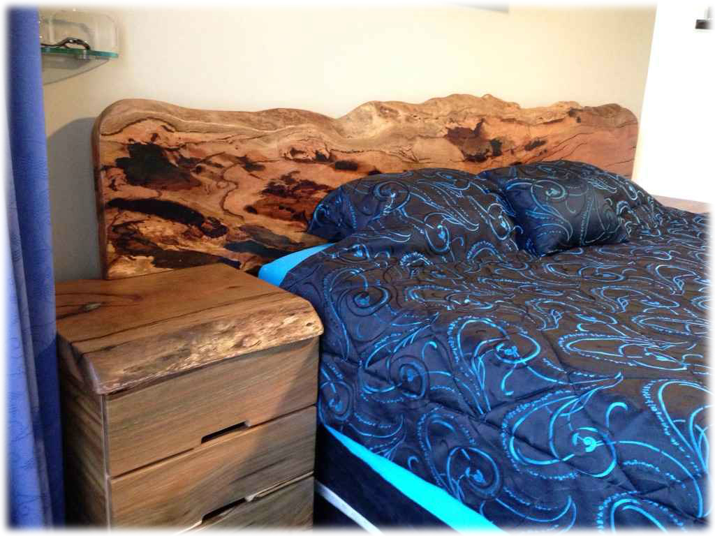 Feature Packed Bedhead & Drawers