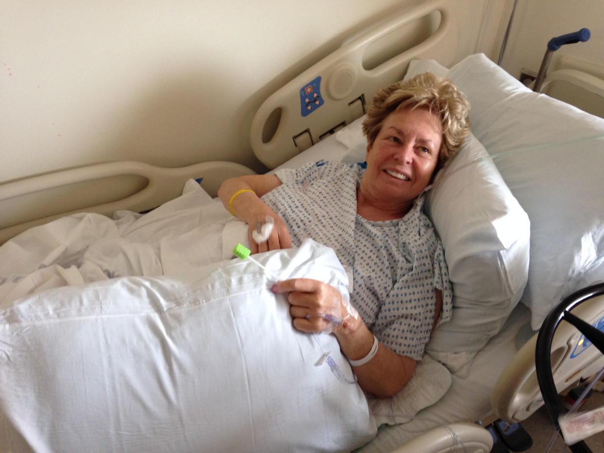 Mo, immediately after whipple surgery